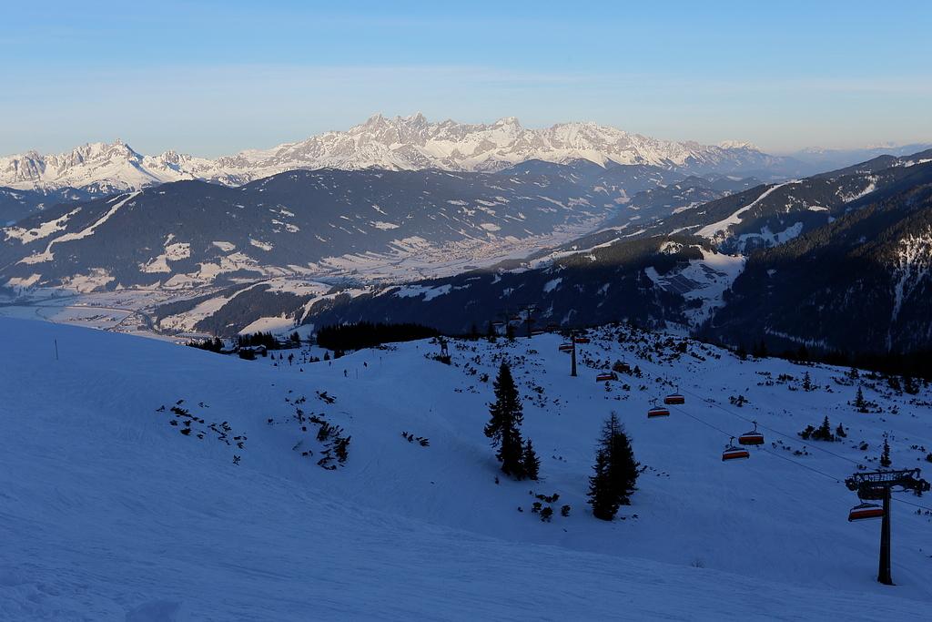 Snow space flachau
